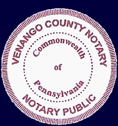 Commonwealth of kentucky notary public venango county notary